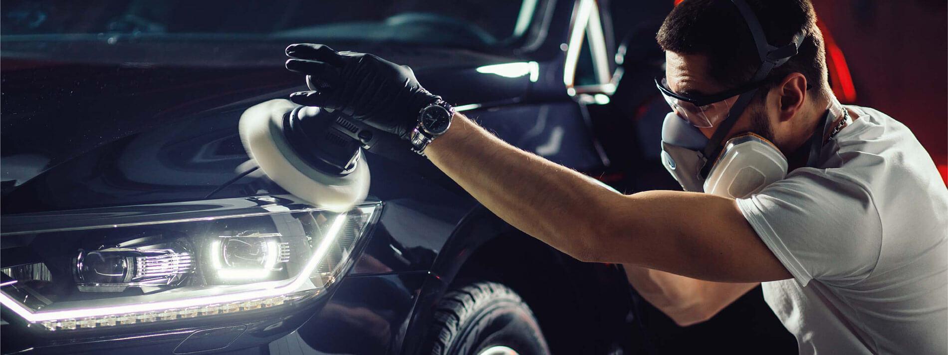 Poliranje karoserije vozila